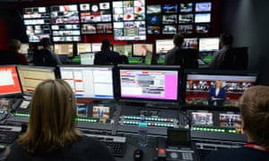 BBC newsroom studio at Broadcasting House. Lancashire's police and crime commissioner has written to BBC Lancashire about its reporting of the story.