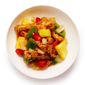 Felicity Cloake's sweet and sour pork: 'savoury and crunchy, sweet and tangy,: it's addictive stuff.'