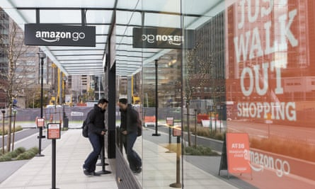 Amazon is testing a high-tech convenience store, Amazon Go, on its Seattle campus. It will eventually open to the public.