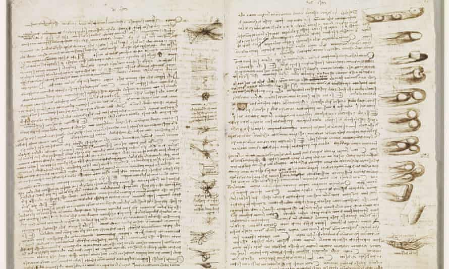 The Codex Leicester will go on show alongside two other notebooks for the first time.
