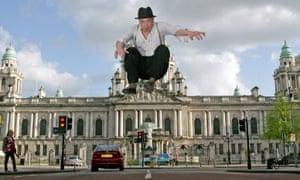 Northern Irish singer-songwriter Foy Vance photographed in Belfast.