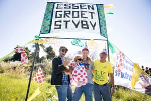Christoph, Joeri, 16, and Rene from Essen, Belgium
