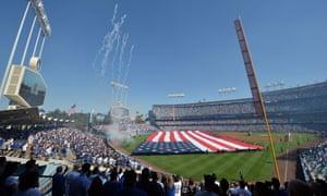 Dodger Stadium is the largest ballpark in MLB