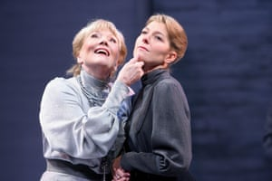 Diana Rigg (Ranyevskaya) and Jemma Redgrave (Varya) in The Cherry Orchard, Chichester Festival Theatre. 21/5/08