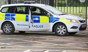 Warwickshire police car