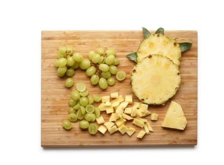 Felicity Cloake's knickerbocker glory:the fruit.