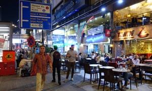 Kuala Lumpur's Bukit Bintang street