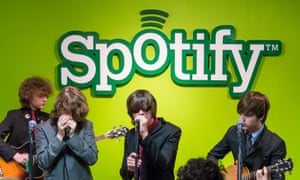 Irish band the Strypes perform for a Spotify set.