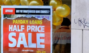 A payday lender's advertising.