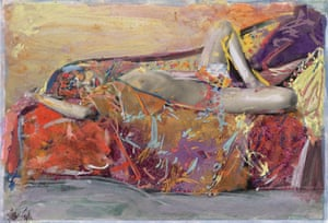 Saul Leiter's Painted Nudes.