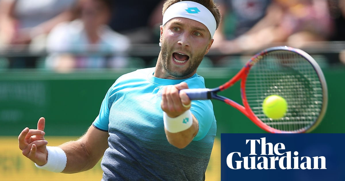 Liam Broady: \'I\'ve got to put opinions out there. It\'s frustrating ...
