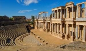 Roman theatre, Mérida.