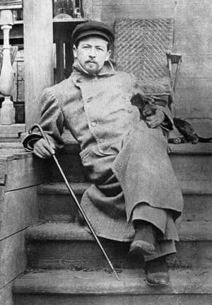 Anton Chekov, in Melikhovo, south of Moscow, in 1897.
