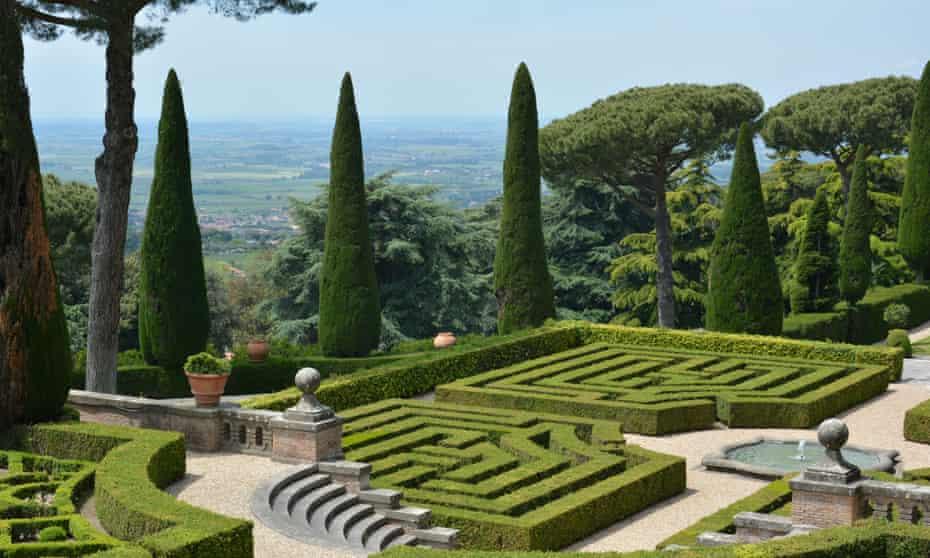 Barberini Garden, Castel Gandolfo, near Rome