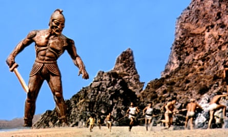 Towering talent … Jason and the Argonauts, with one of Ray Harryhausen's stop-motion creations.