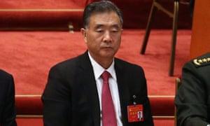 Chinese Vice Premier Wang Yang