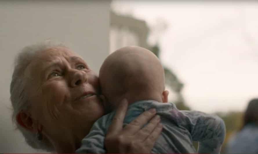 Still from the Australian government's First Things First vaccine ad campaign