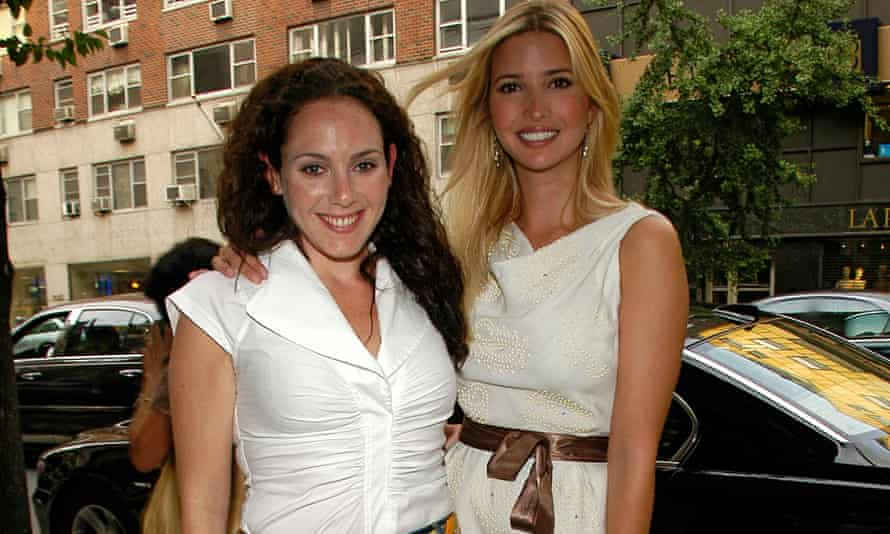Lysandra Ohrstrom and Ivanka Trump on their way to a book launch party in New York in 2007.