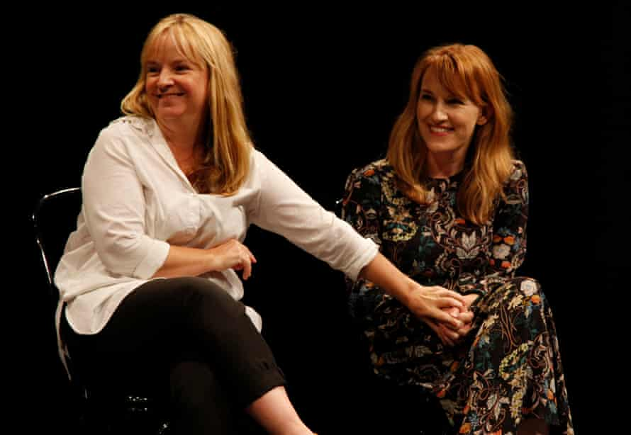 Casting agent Kirsty McGregor and actor/writer Kate Mulvany