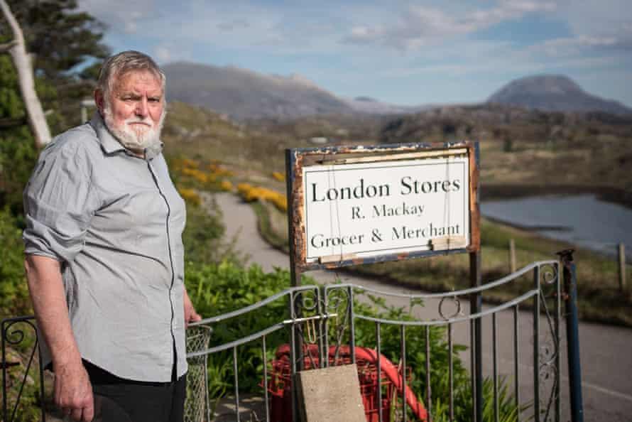 Shopkeeper Irwin Mackay