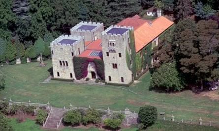 The Pazo de Meirás in Galicia, Spain