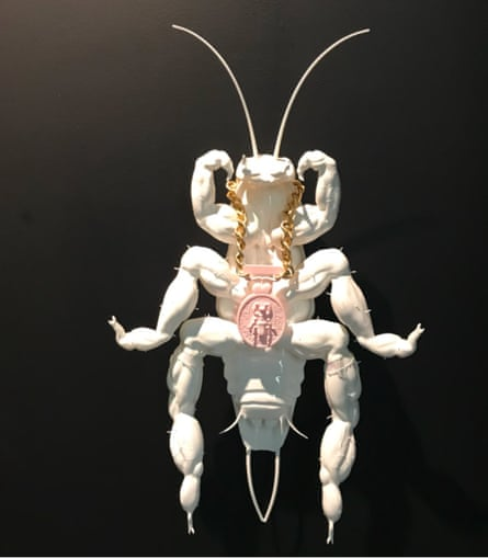 Wong Ping's Albino Cockroach: definitely not boring