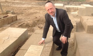 Edwin Shuker on a trip back to Baghdad in 2015.