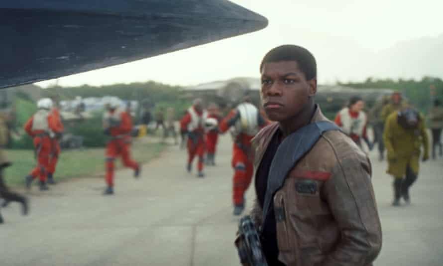 John Boyega in Star Wars: The Force Awakens.