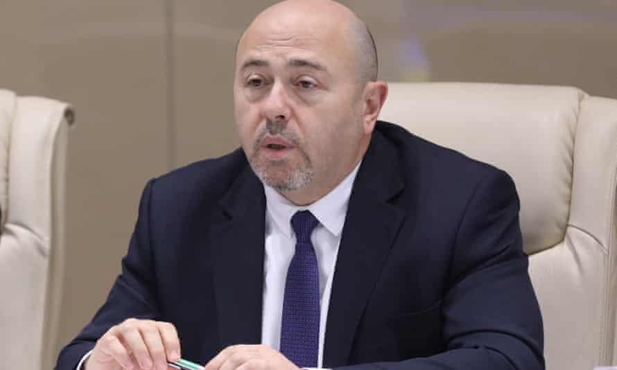 Israel's ambassador to Moscow, Gary Koren