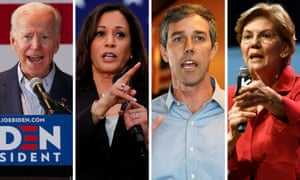 Biden and Harris will participate in the second debate on Thursday, while O & Rourke and Warren will enter the stage on Wednesday.