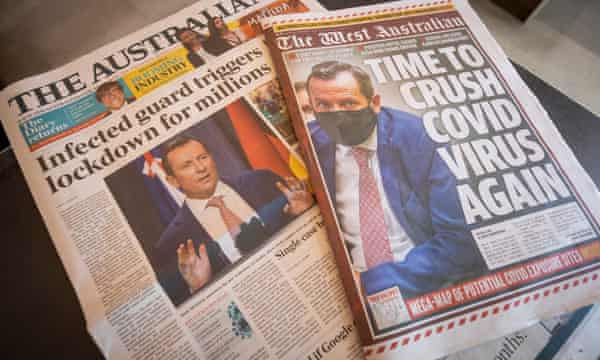 Two contrasting views of the Western Australian Covid lockdown