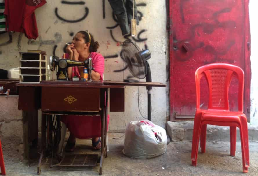Zohour Damriye lives in Shatila, one of Beirut's Palestinian camps.