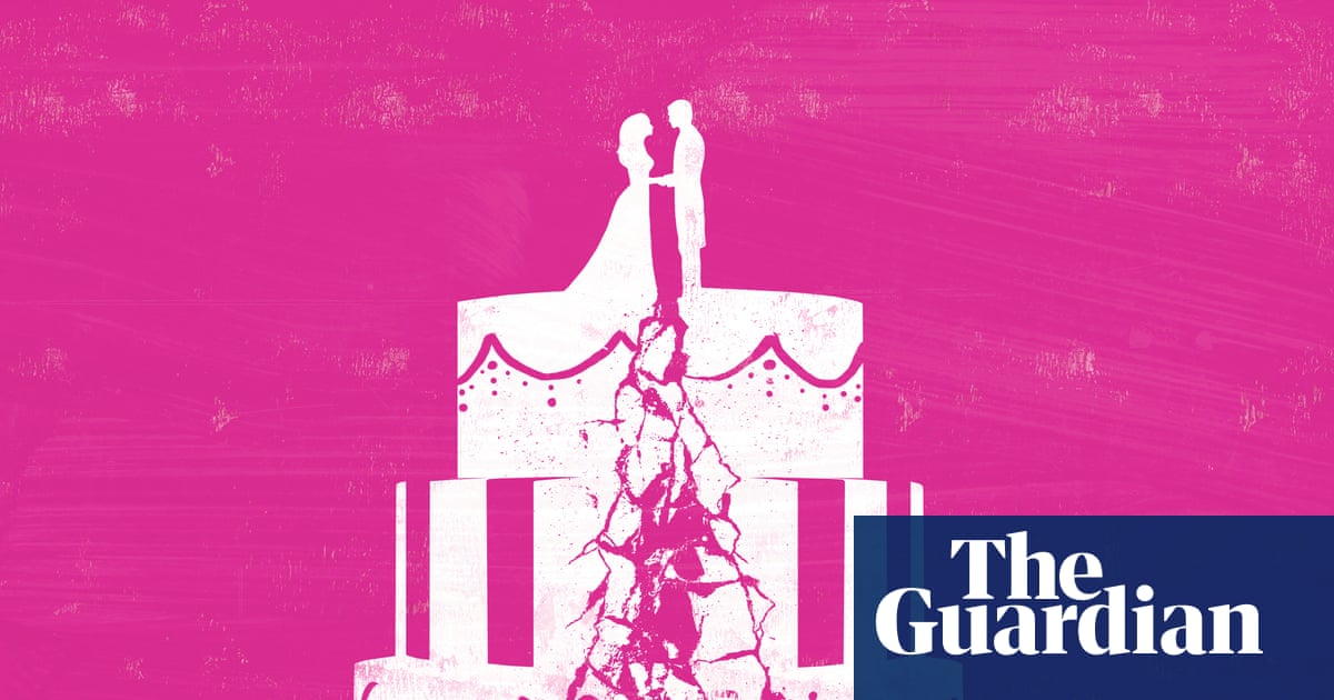 The moment our marriage was over: 'I shook as I held his