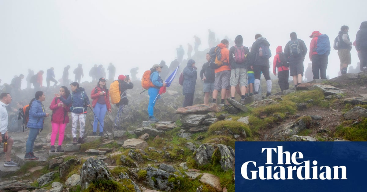 'Not a walk in the park': calls for visitors to 'respect' Snowdon