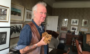 Ed Vulliamy with the original Dogger, whom he received for Christmas in 1959 (he thinks).