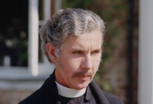 Author Ronald Blythe as the vicar