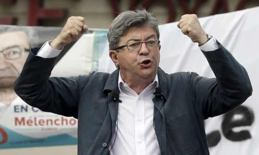 Mélenchon gearing up for the second round of parliamentary elections earlier this month