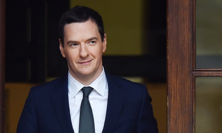 Chancellor George Osborne on his way to delivering his autumn statement.