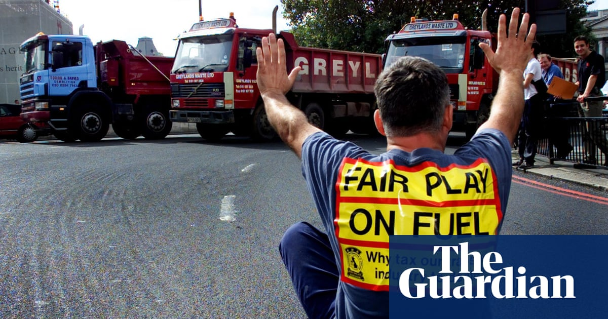 Autumn 2000: when fuel shortages brought UK to virtual standstill