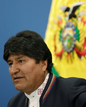 Evo Morales had previously rejected offers of international help to battle the fires.