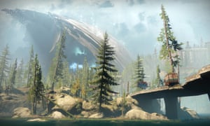 Games such as Destiny 2, in which a multitude of players can range across a ruined solar system, has turned the critic into travel writer.