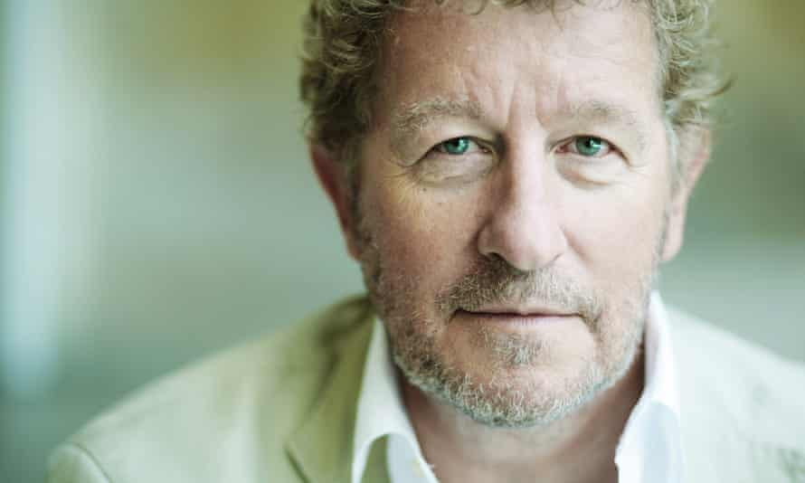 Author Sebastian Faulks.