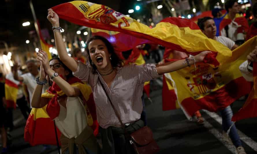 Demonstration against independence referendum