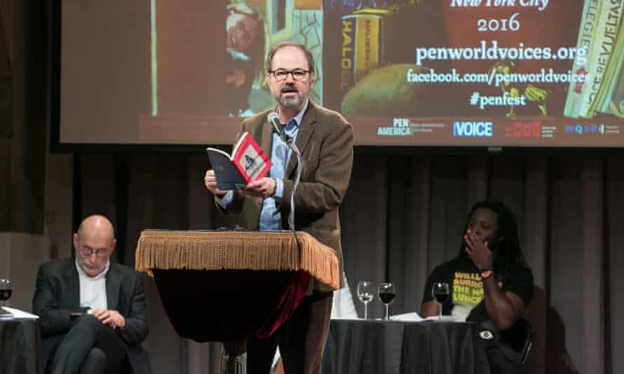 Juan Villoro at PEN: the Mexican writer read a highly entertaining excerpt from his short story Amigos Mexicanos