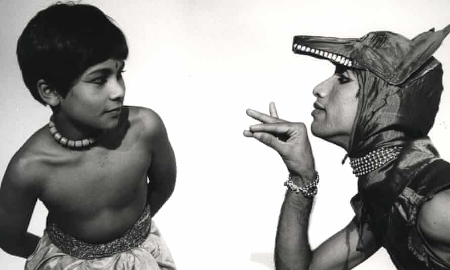 Young Akram Khan in Akademi's The Adventures of Mowgli, 1984.