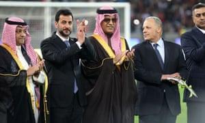 President of the Asian Football Confederation Sheikh Salman Bin Ibrahim Al-Khalifa