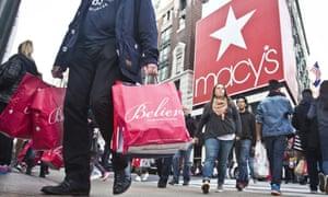 Macy's in Herald Square, in New York.