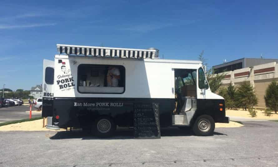 Johnny's Pork Roll truck