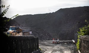 Hartington Reclamation site and coal mine