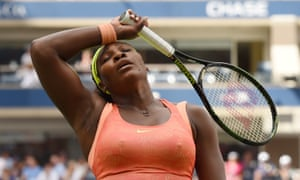 Serena Williams: disappointed.
